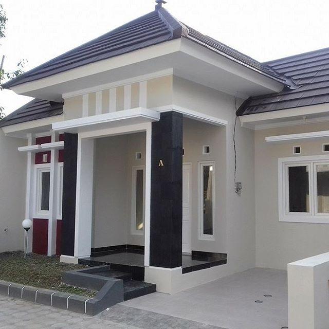 Gambar Rumah Minimalis Terbaru 1 Lantai Dengan 3 Kamar Exterior