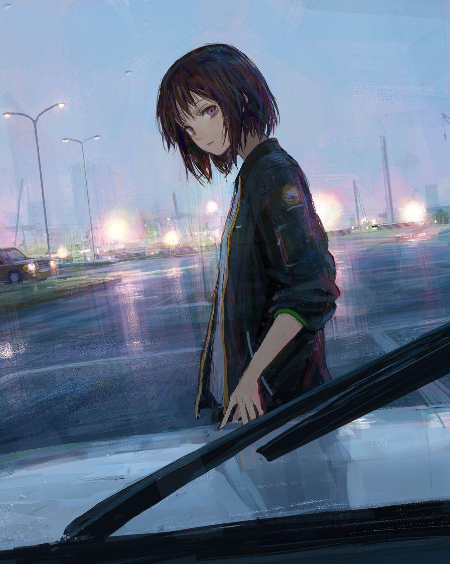 Kết quả hình ảnh cho anime girl short hair αrt
