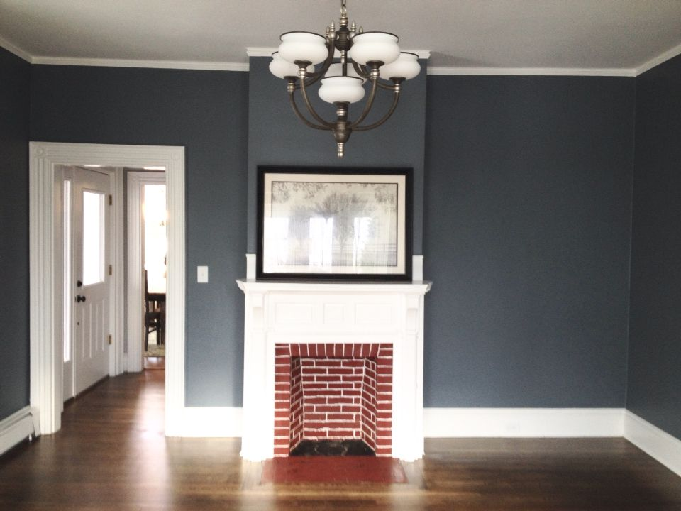 Foggy Day Sherwin Williams Paint Color House Flip Reno