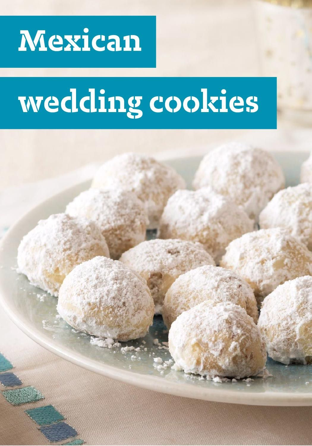 Mexican Wedding Cookies — Five ingredients and 20 minutes