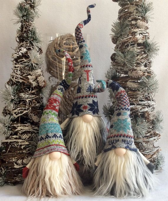 Tomte Nisse Nordic Gnome Santa Christmas decoration