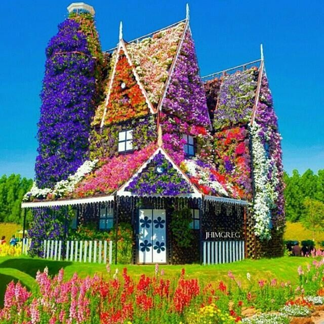 Dubai Miracle Garden, the largest natural flower garden in