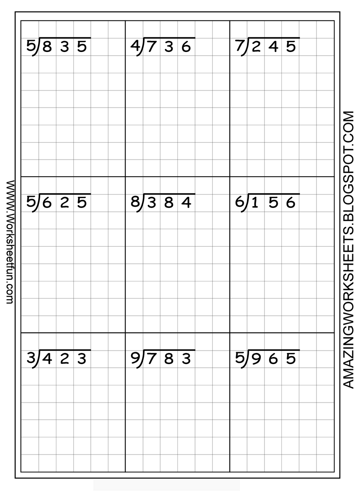 This Was Suggested For Long Division But Of Course Could Be Used To Help With Any Alignment
