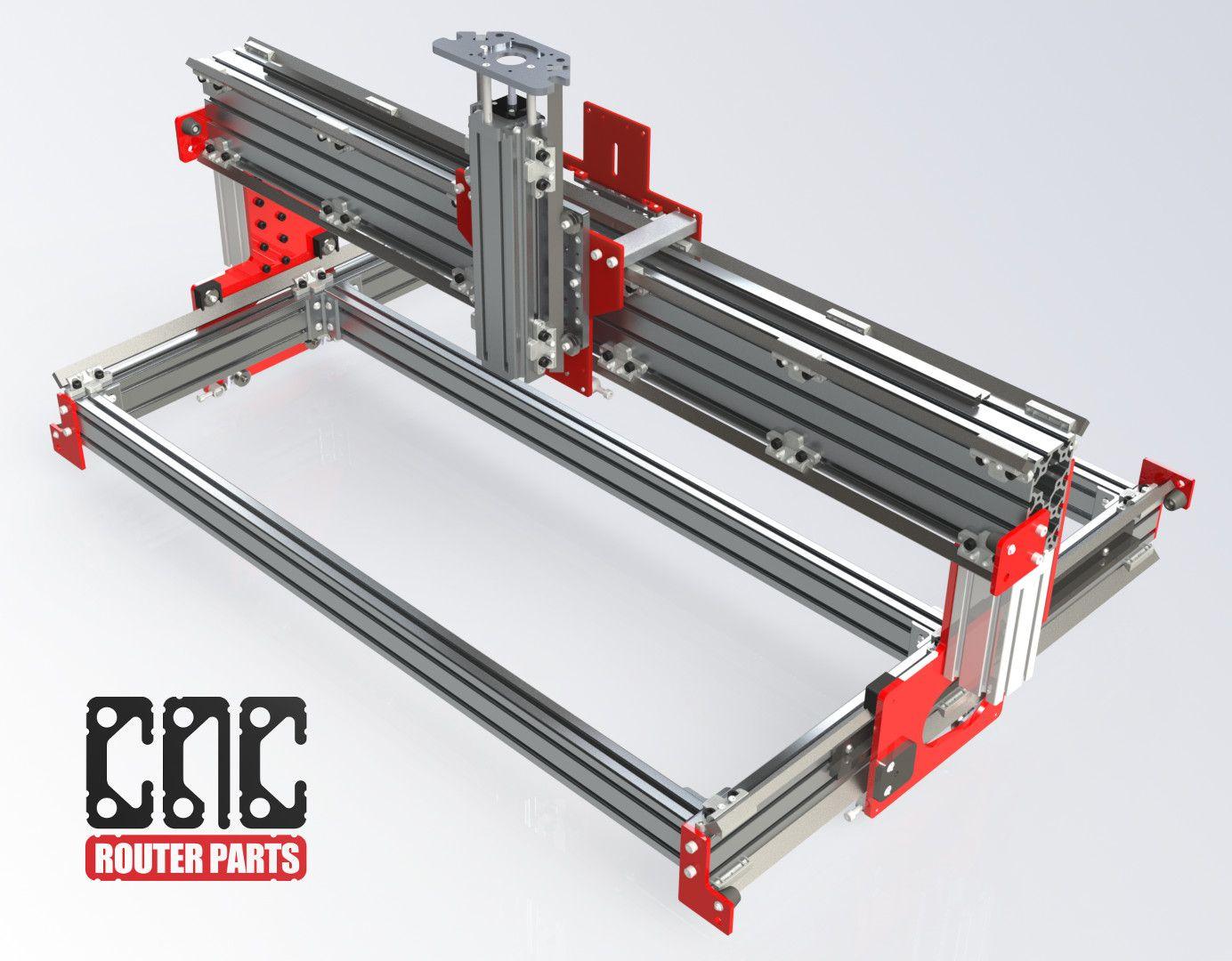 PRO4824 4' x 2' CNC Router Kit CNC, Milling, Lathes