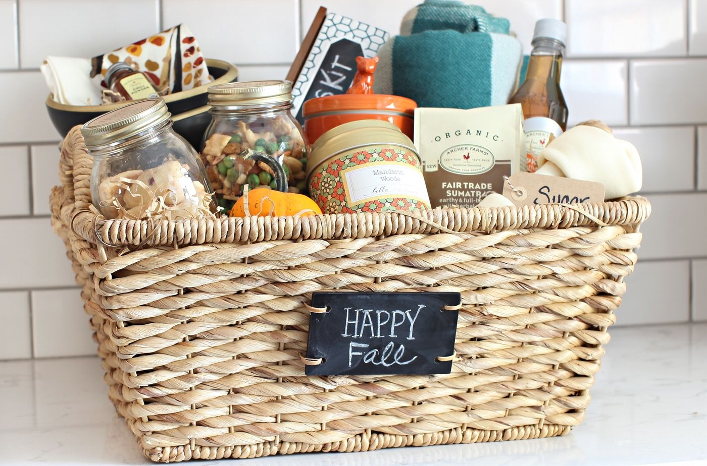 Fall Gift Baskets On Pinterest