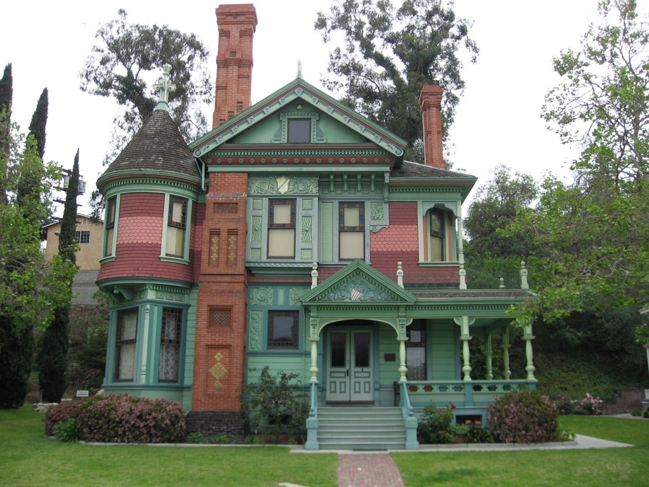 L.A. Victorian, 1880 Hale House Los Angeles Historic