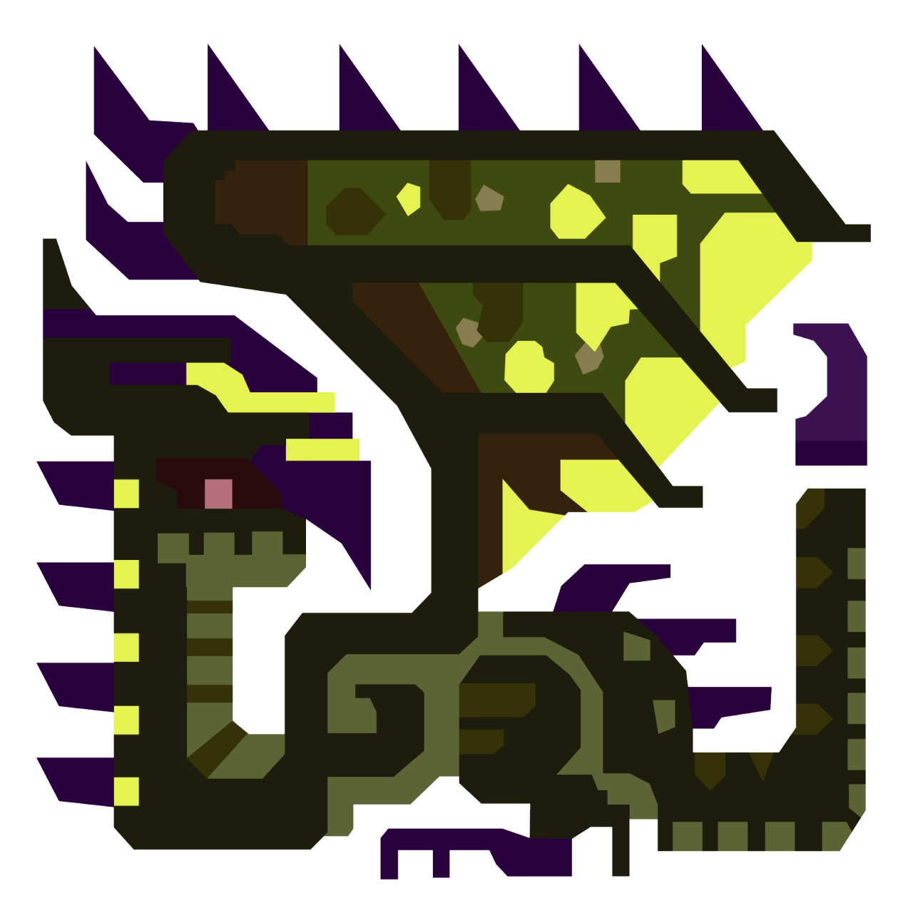 MHX Raizekusu icon Monster Hunter Pinterest Monster