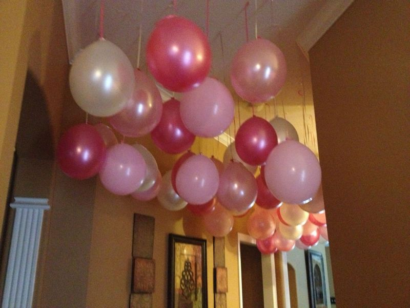 How To Decorate Ceiling With Balloons Without Helium ...