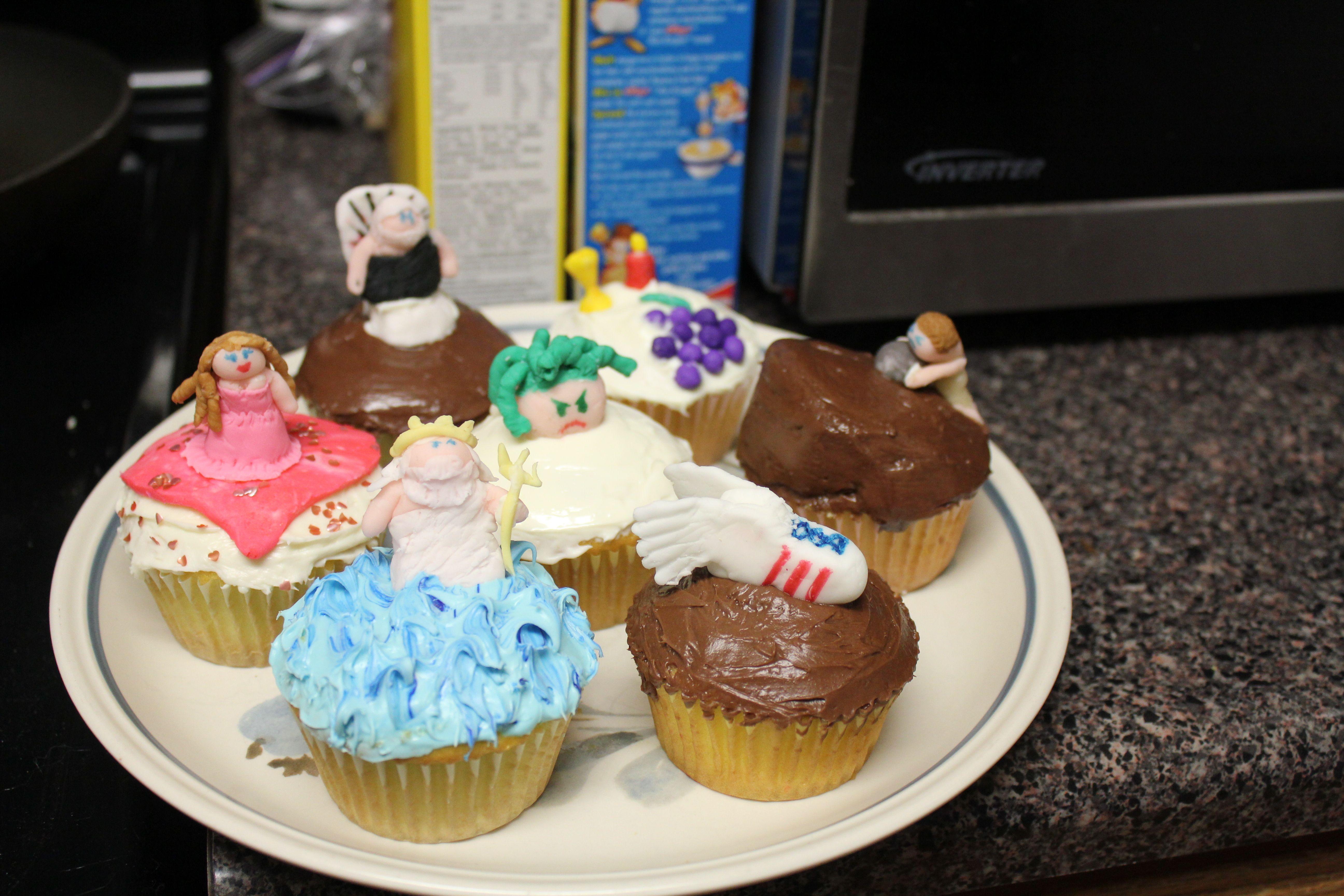 Greek Mythology - Cupcakes