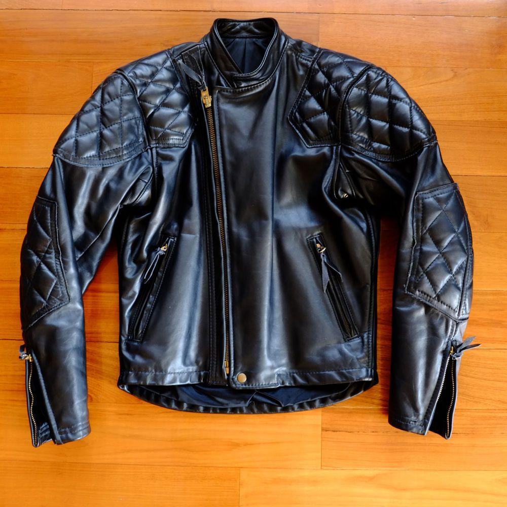 Langlitz Leathers Cascade padded motorcycle jacket 40