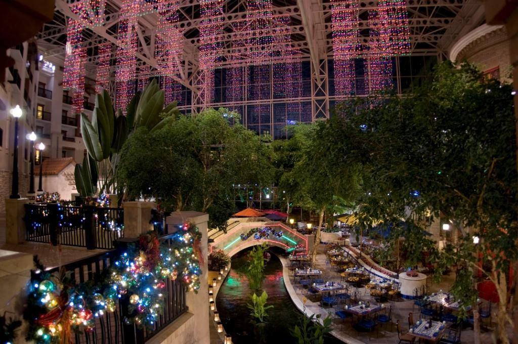 Gaylord Texan One of my favorite places to see Christmas