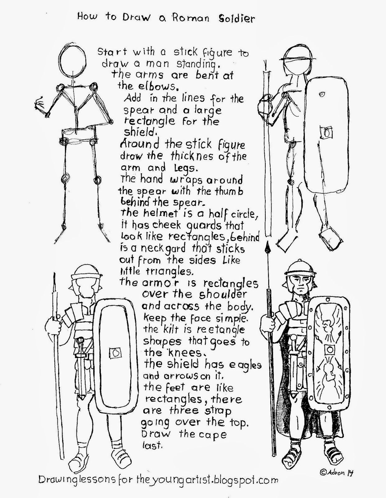 How To Draw A Roman Legion Sol R Worksheet How To Draw