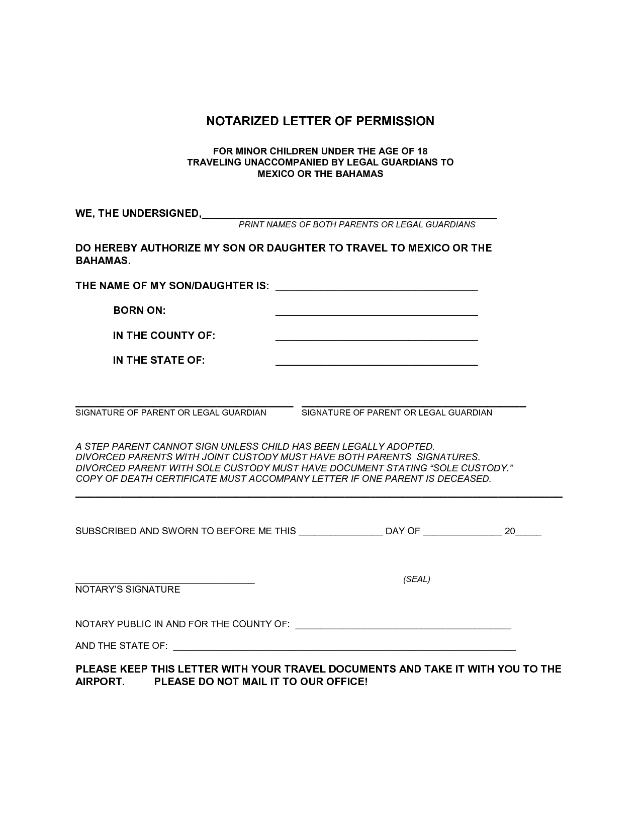 Home Affairs South Africajpeg 1 Sample Permission Letter