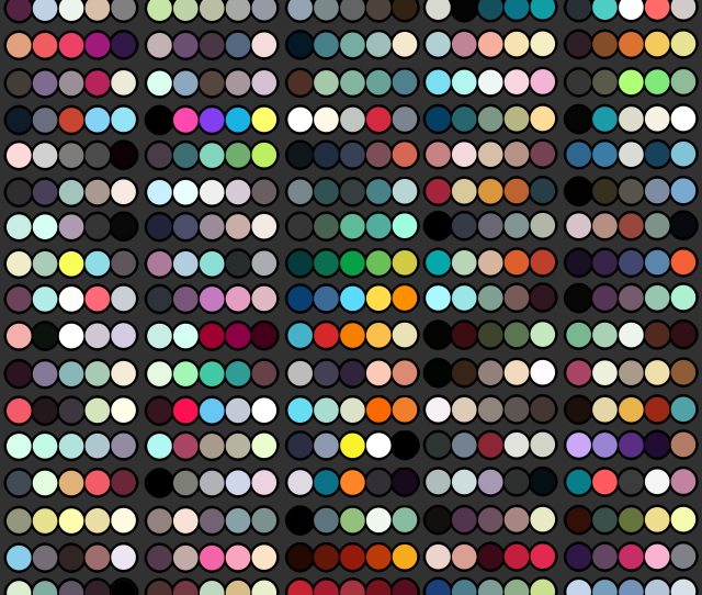 Color Palettes Free To Use By Kariosa Adopts
