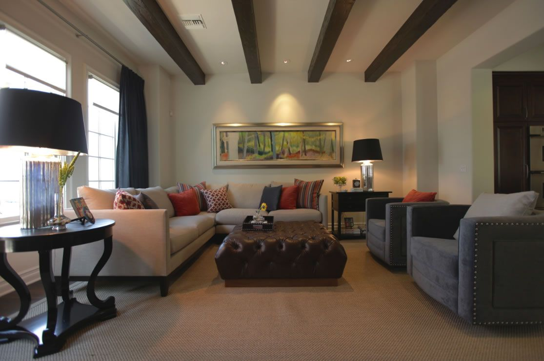 """jeff lewis calabasas looks inviting and comfy but a bit """"lined up"""