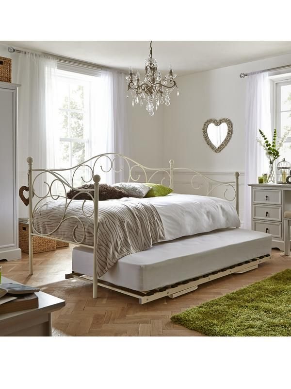 Saskia Day Bed And Trundle Optional Mattresses Very Co Uk