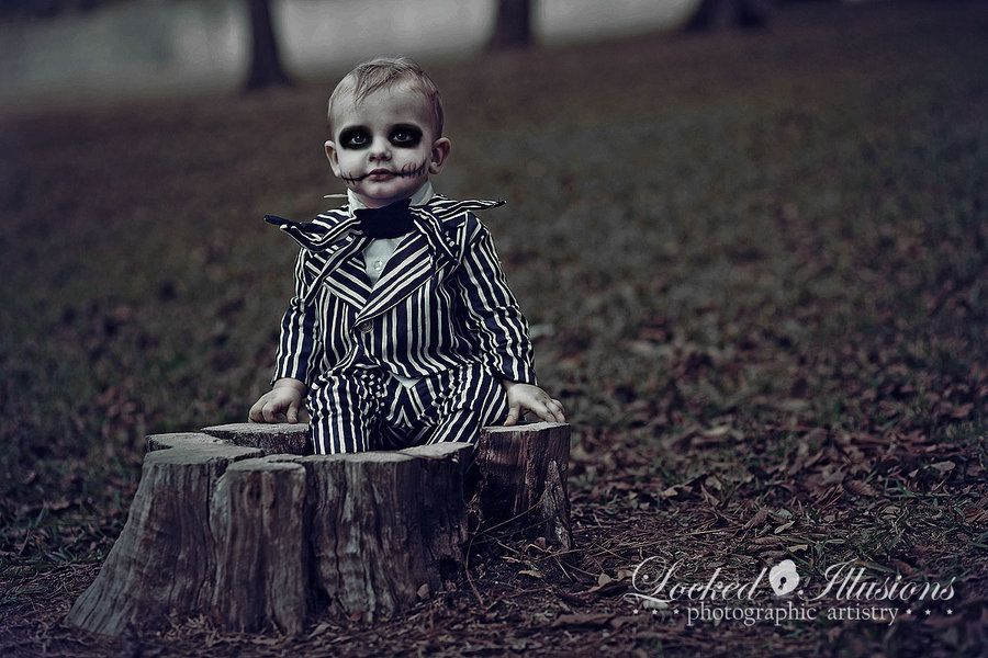 Idea for Ty's 2013 Halloween photo shoot.........Baby Jack