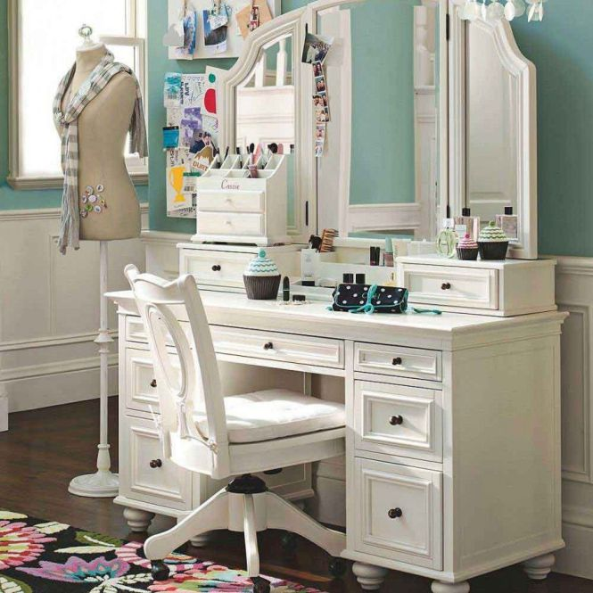 Sketch Of Modern Dressing Table With Mirror Vintage And Fusion Bedroom Vanitiesbedroom