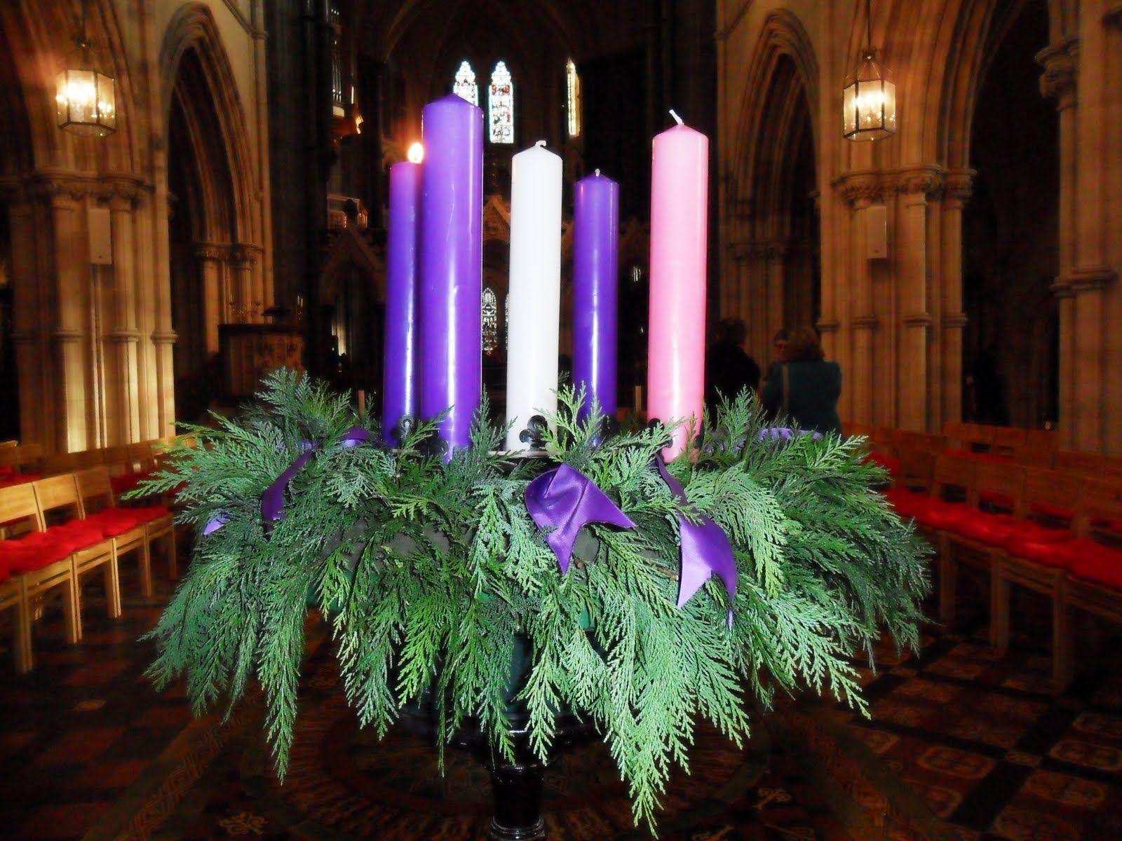 advent wreath in church Google Search Advent Church