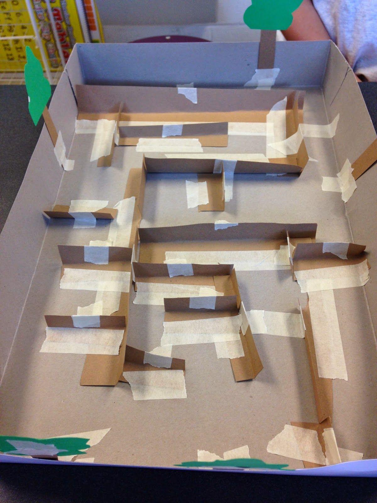 Stem Activity Challenge Build A Marble Maze