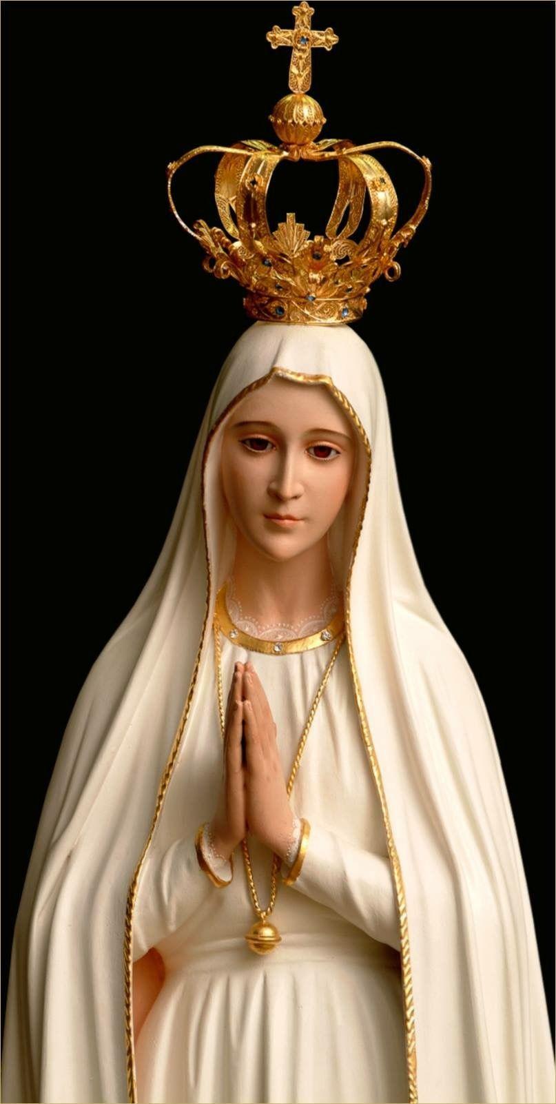 Nossa Senhora de Fátima BLESSED VIRGIN MARY Pinterest