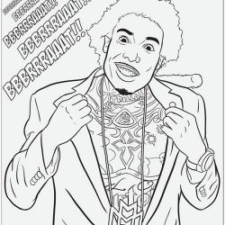 colouring pages lil wayne and coloring sheets on pinterest