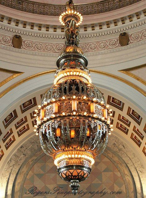 Chandelier State Capitol Building Olympia Washington