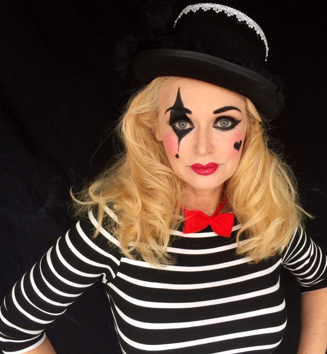 Mime makeup by Kathy Hartsell Jacobs Mime makeup