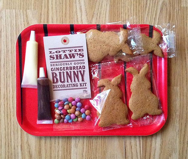 gingerbread decorating kit   giant gingerbread man decorating kit easter lottie shaw u0027s gingerbread bunny decorating kit review rh  pinterest com