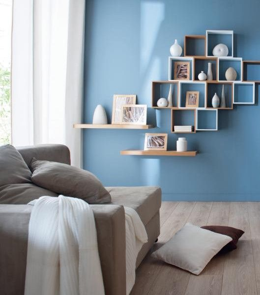 Deco Chambre Scandinave Bleu