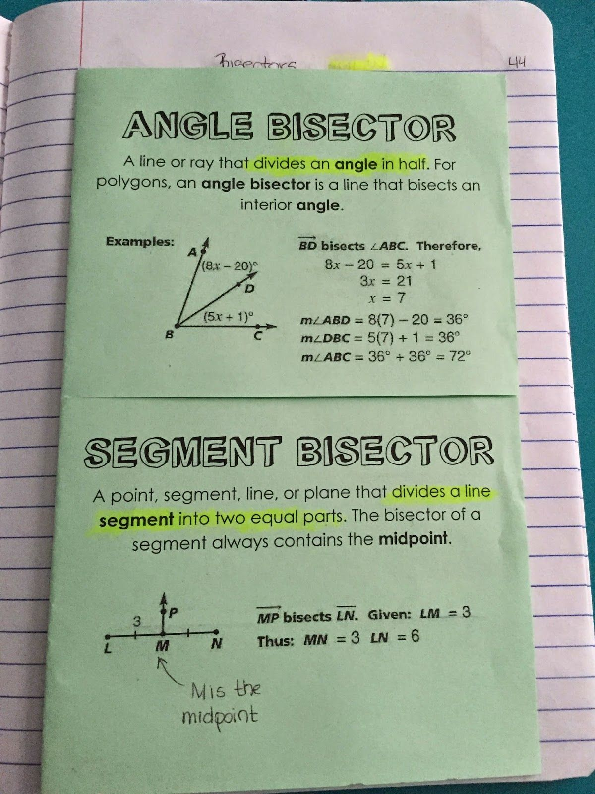 Downloadable Sheets Geometry Unit 4 Triangles