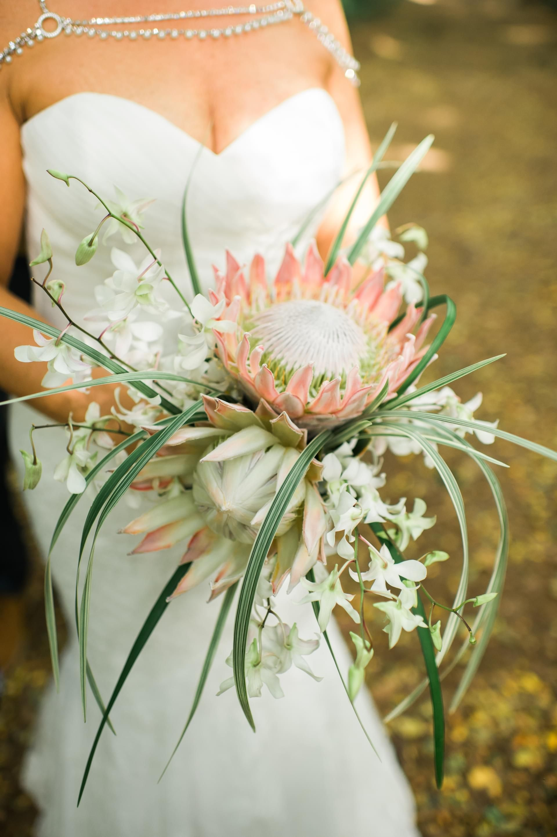 The Smarter Way to Wed White orchids, Bridal bouquets
