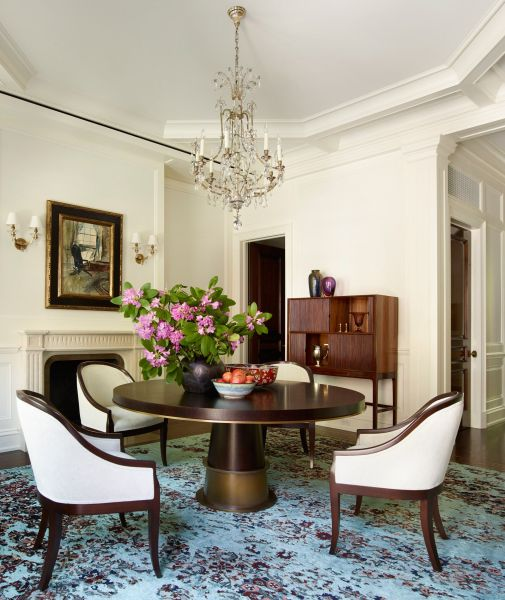 An Elegant New York Townhouse Is Reborn   Townhouse  Architectural     An Elegant New York Townhouse Is Reborn  Formal Dining RoomsDining Room  SetsDining