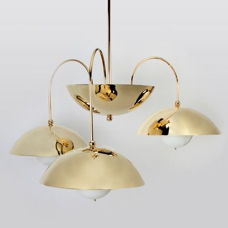 Commune For Remains Triple Dome Chandelier