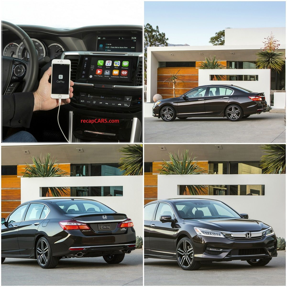 2016 Honda Accord with Apple CarPlay and Android Auto