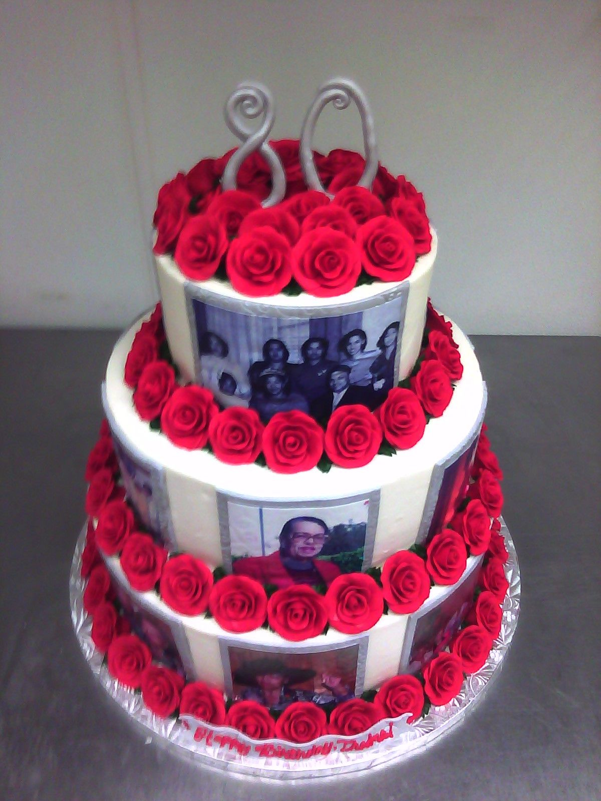 birthday cakes for women 80th Birthday Cake Designs For