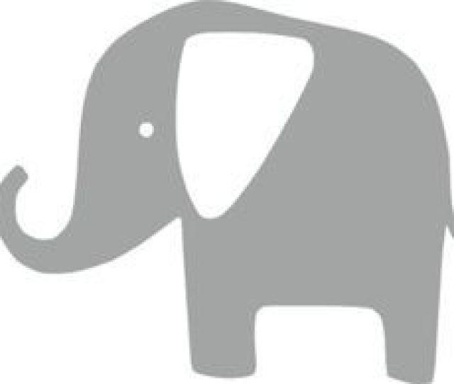 Gray Elephant Clip Art Vector Clip Art Online Royalty Free Public Domain