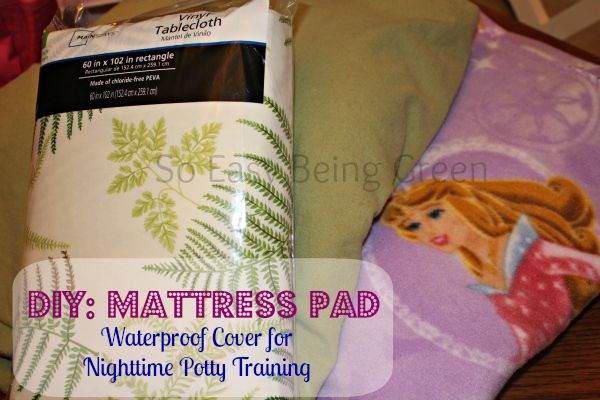 Naturally Frugal Tip Diy Waterproof Matress Pad Cover Vinyl Tablecloth Mattress And