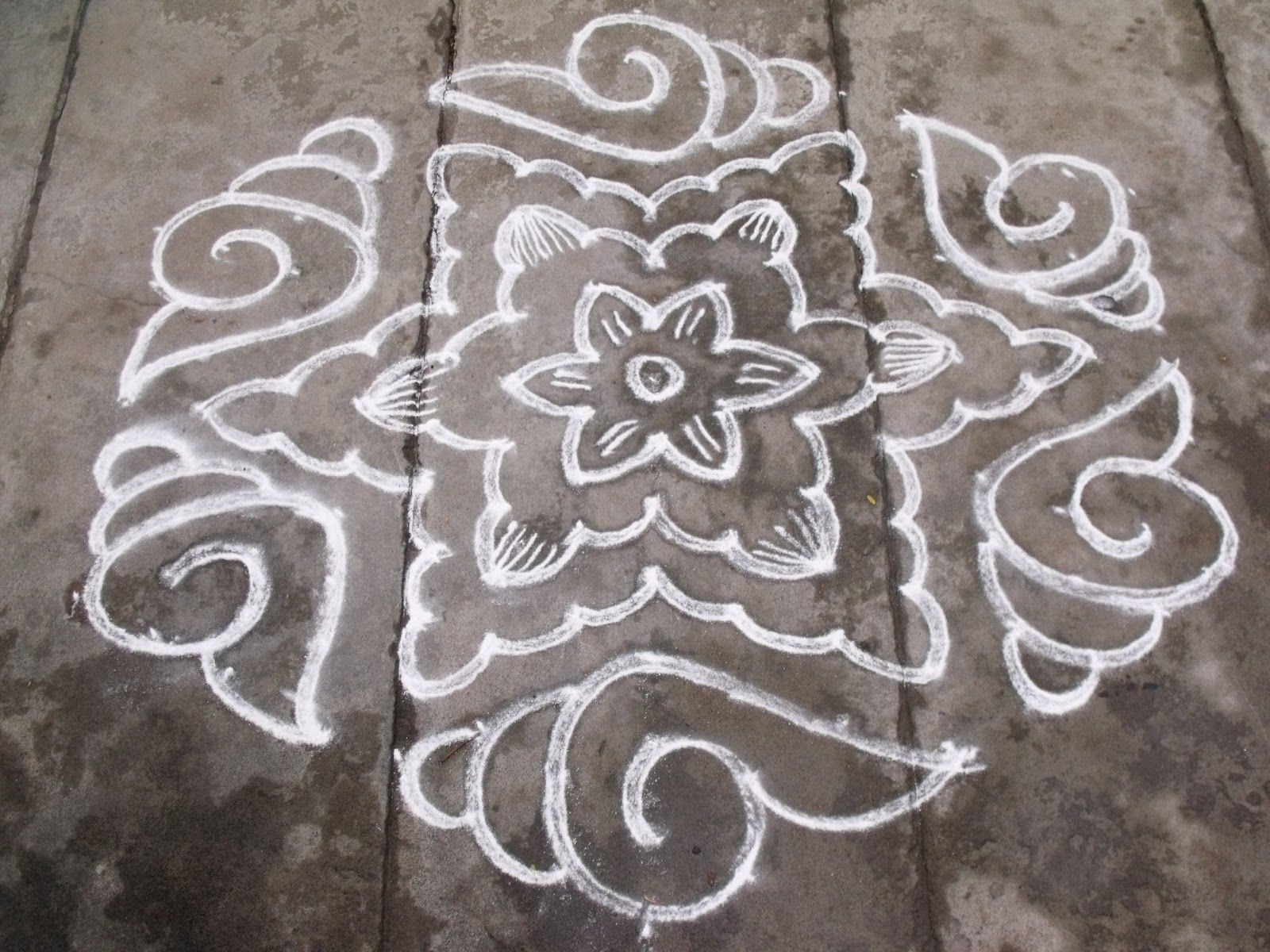 star rangoli designs Google Search Rangoli / kolams