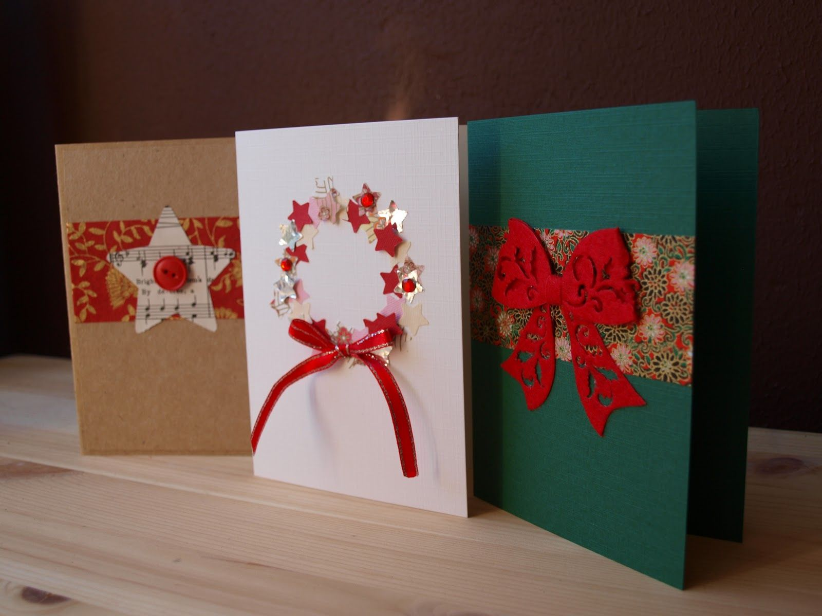 Christmas Craft Ideas Christmas cards, Cards and