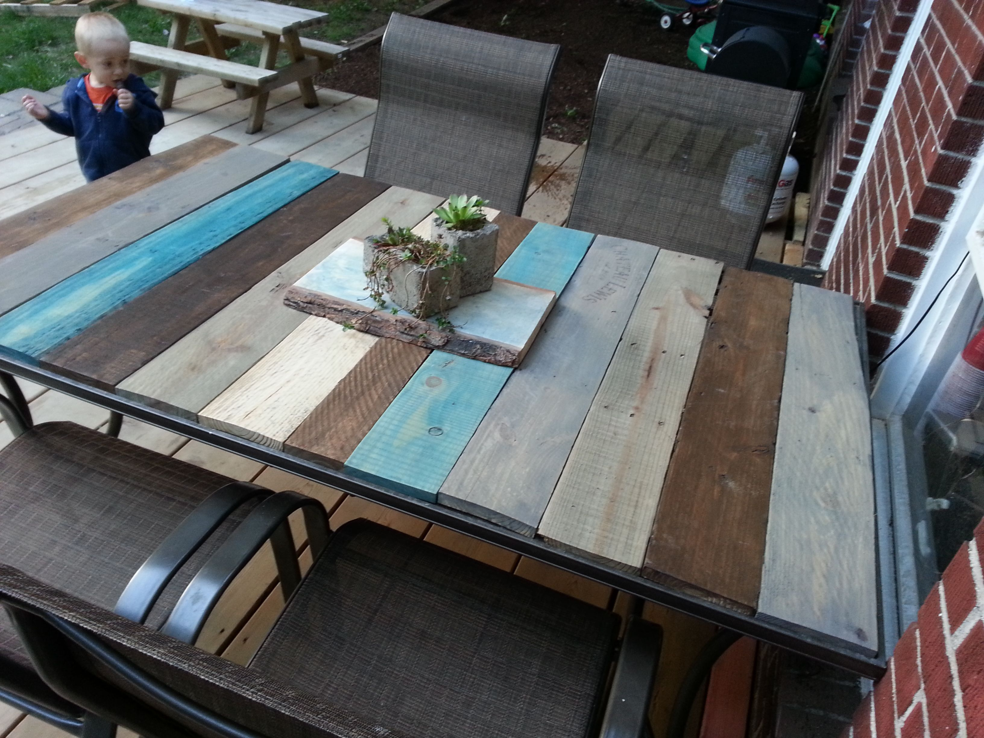 If you're looking for an allnatural wood stain for your