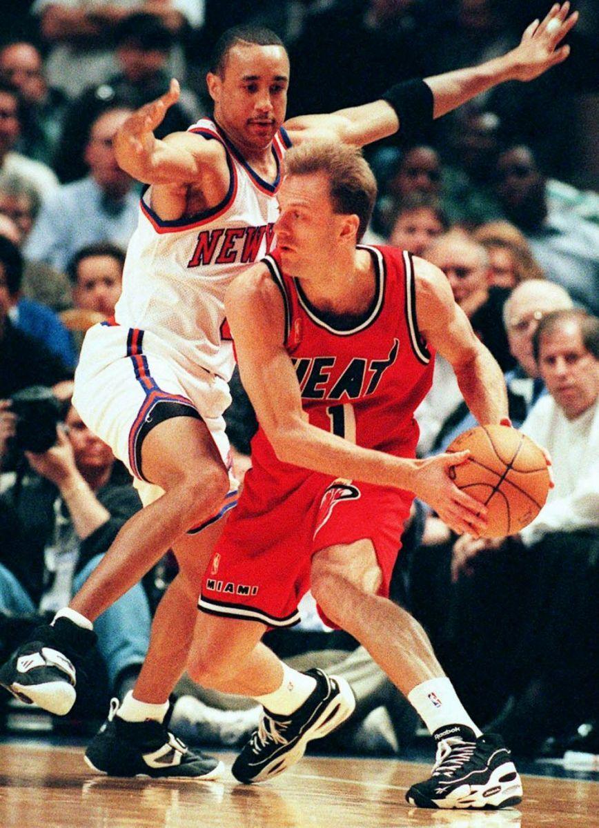 John Crotty Miami Heat John Starks New York Knicks John