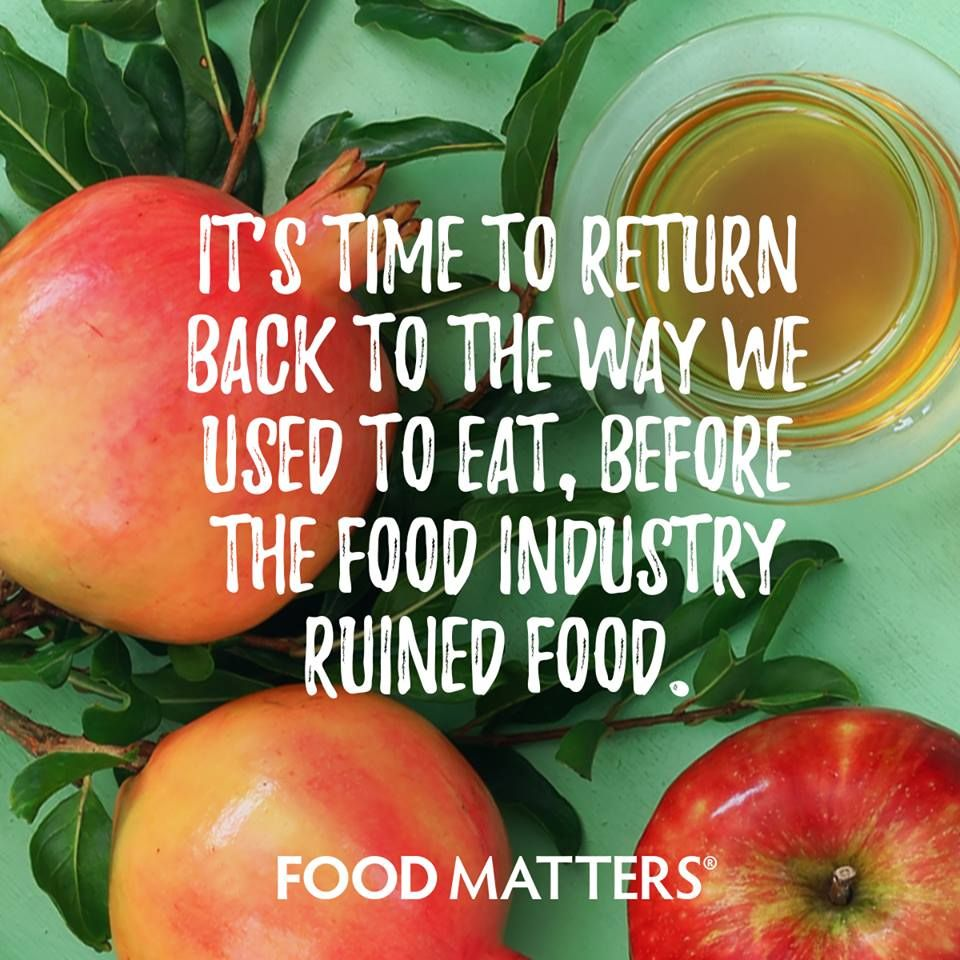 Real food foodmatters FMquotes