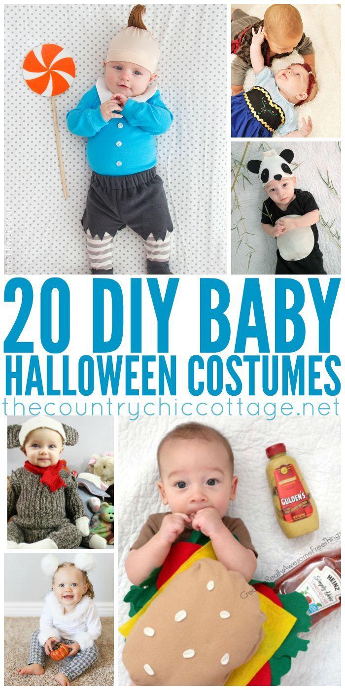 DIY Halloween Costumes for Baby DIY Halloween, Halloween