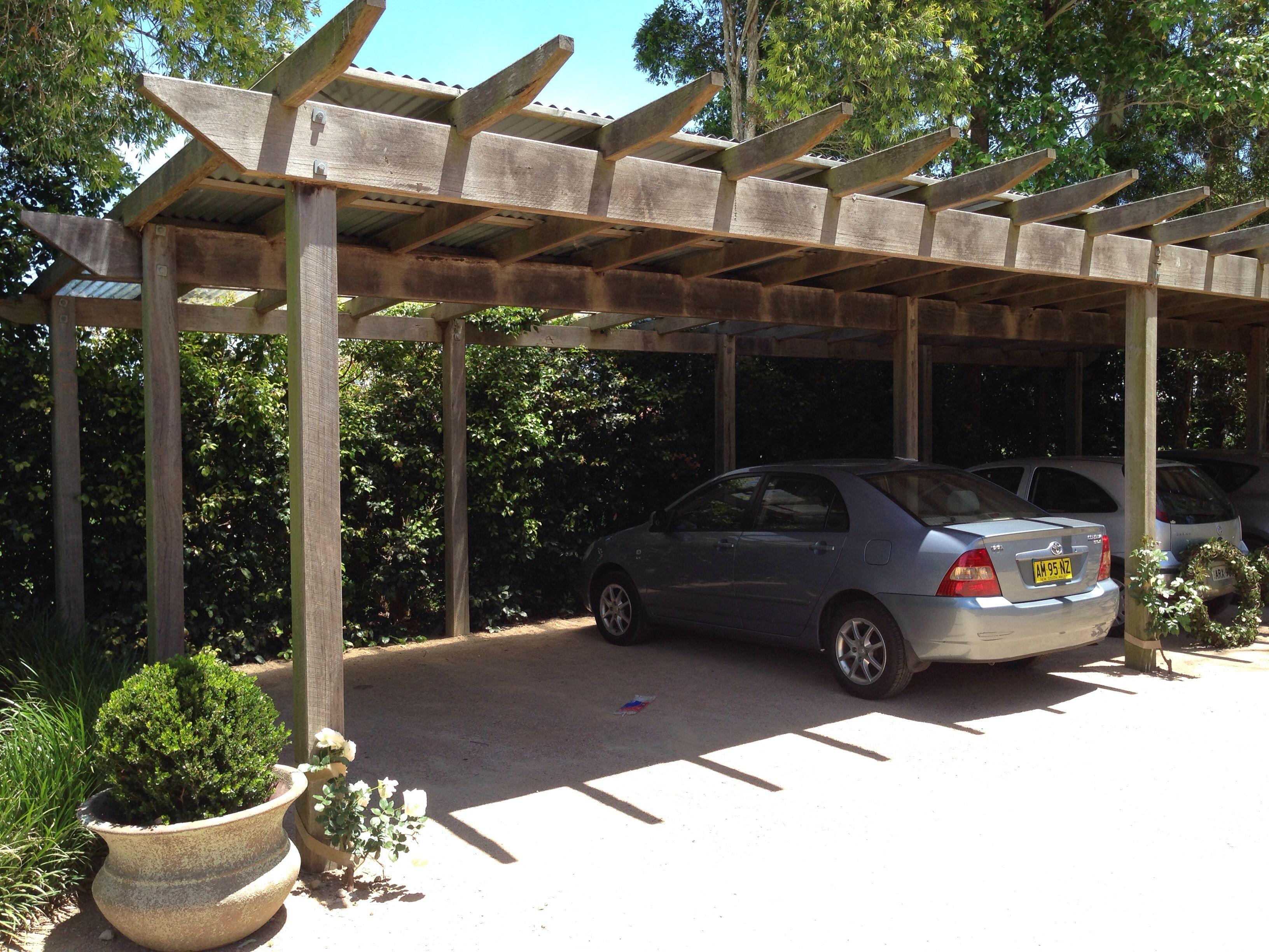 Rustic Carport.. Car Ports Pinterest Car ports