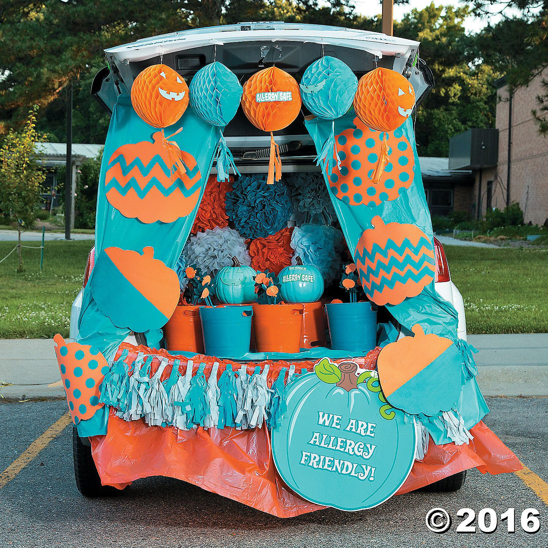 TrunkorTreat Teal Pumpkin D Trunk or Treat Pinterest