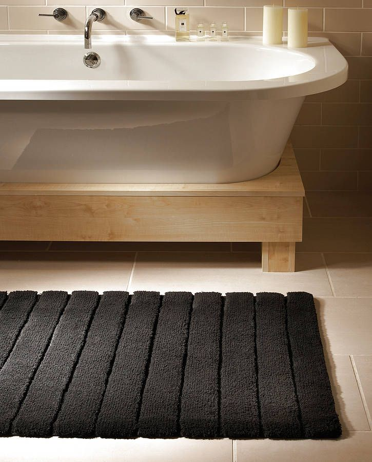 lined bamboo bath mat $85 | apt ideas | pinterest | bath, family