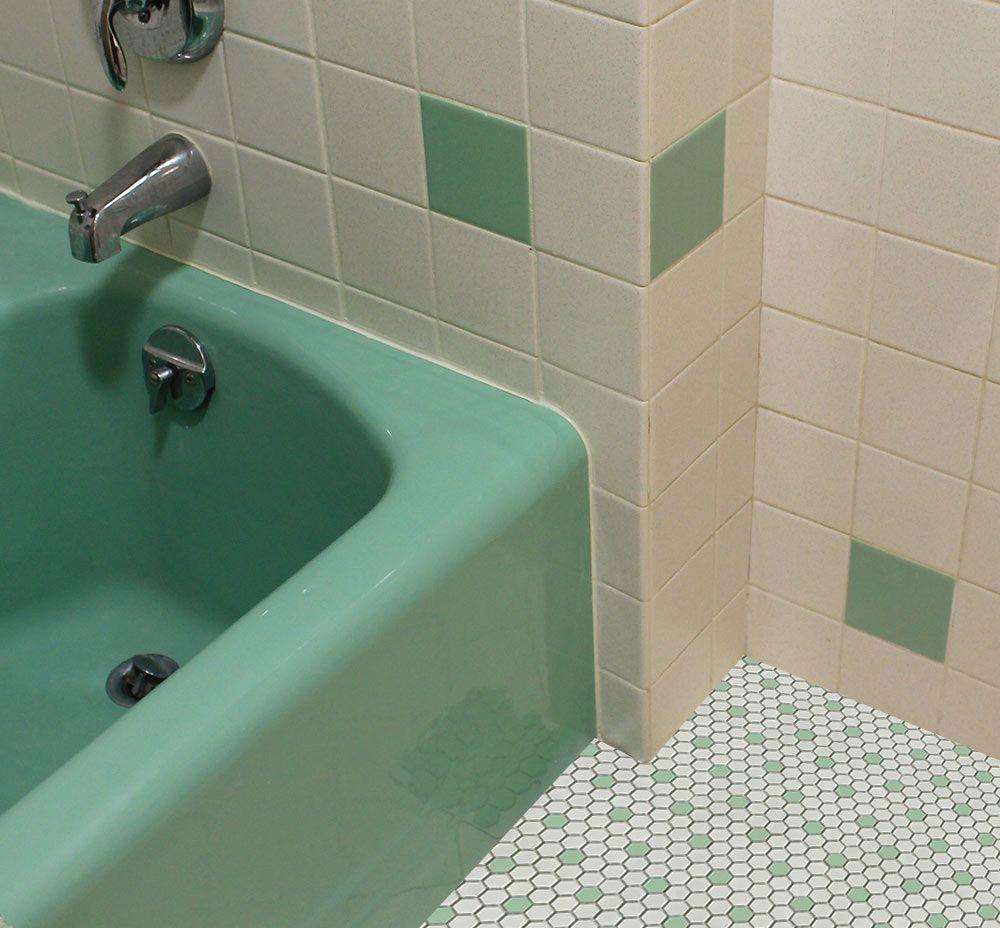 Green Bathroom Floor Tiles Wwwimgkidcom The Image