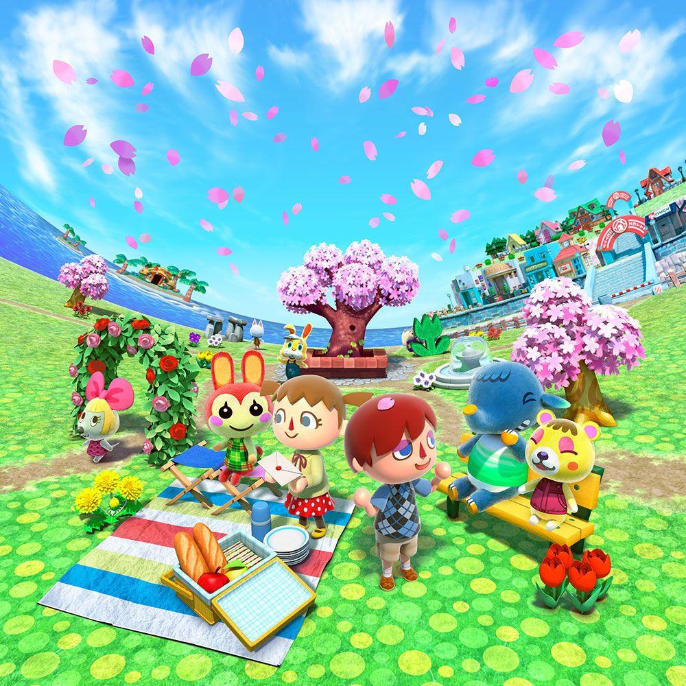 Spring Animal Crossing New Leaf ACNL AC QR codes