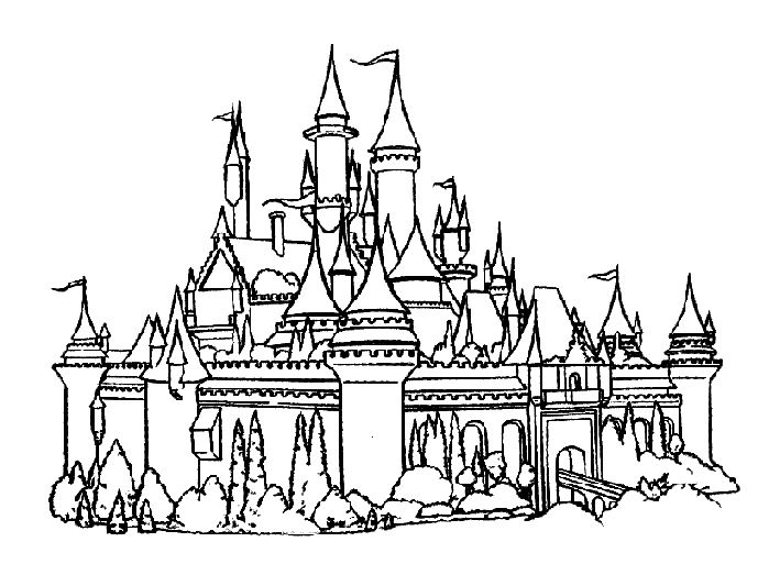 coloring pages coloring and castles on pinterest